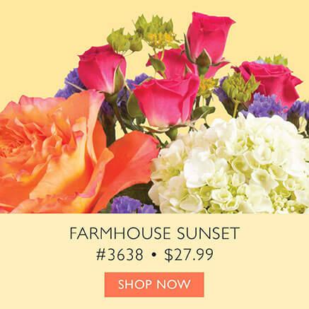 Farmhouse Sunset, Small
